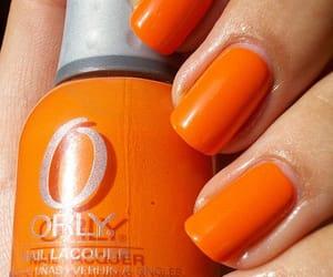 руки, оранжевый, and красиво image