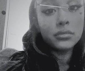 black n white, selfie, and r&b image