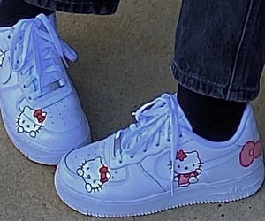 shoes, hello kitty, and aesthetic image