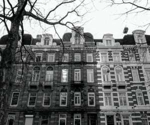 amsterdam, architecture, and black and white image