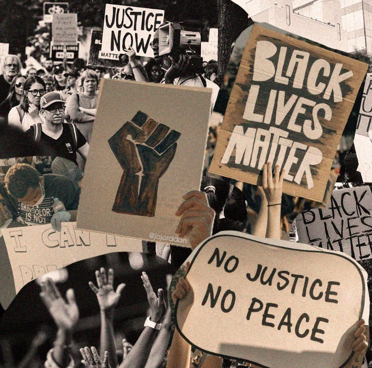 article, justice, and police brutality image