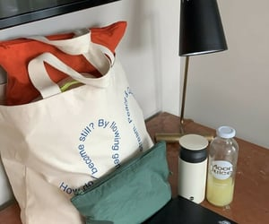 aesthetic, journal, and tote bag image