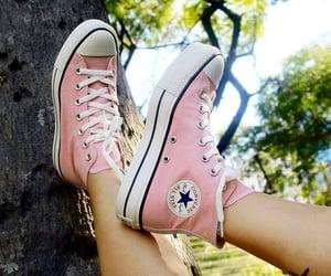 all star, moda, and sapatos image