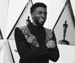 actor, Avengers, and black panther image