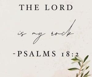 god, bible verse, and psalms 18:2 image