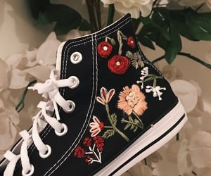 bordado, converse, and embroidery image