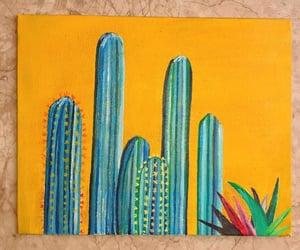 amarillo, paintings, and pintura image
