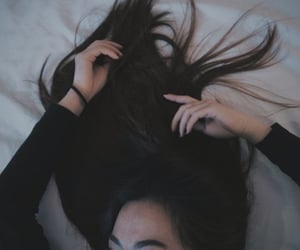 alt, brunette, and beautiful image
