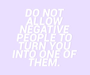 quotes, negative, and purple image