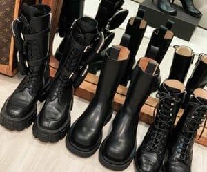 chanel, chanel boots, and Prada image