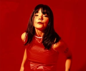 90s, bjork, and red image