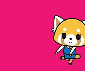 anime, aggretsuko, and dancing image