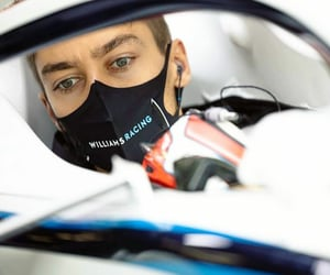 formula 1, george russell, and williams racing image
