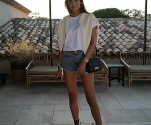 blogger, casual, and denim image