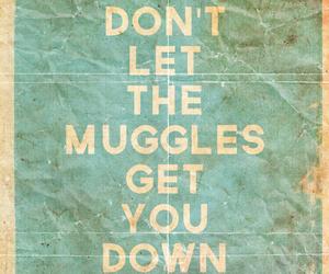 down, don't, and muggles image