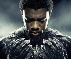 Marvel, black panther, and chadwick boseman image
