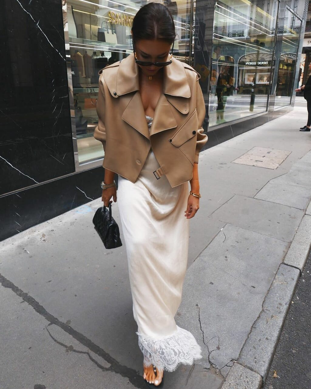 blogger, chanel bag, and look image