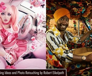 photo retouching, advertising, and graphic design image