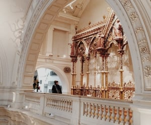 architecture, aesthetic, and rose gold image