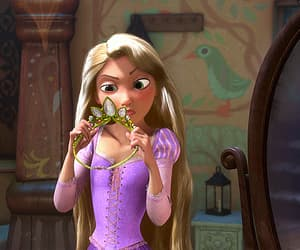 disney, gif, and tangled image