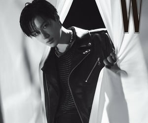 black and white, soloist, and lee taemin image