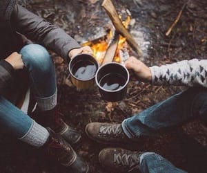 огонь, фото, and друзья image