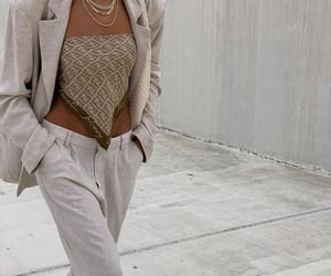 street style, fashion, and fendi scarf top image