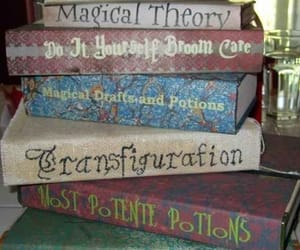 books, light, and elves image