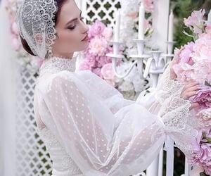 bride, fairytale, and wedding image