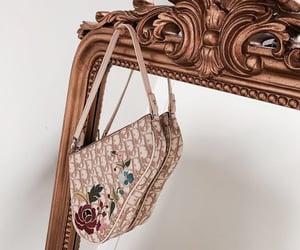 bag, mirror, and dior image