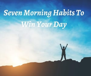 success habits and morning habits image