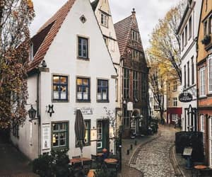 city, travel, and house image