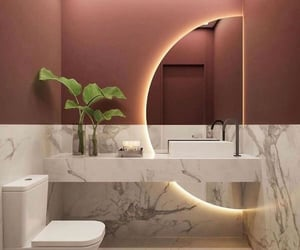 bath, beautiful, and decor image