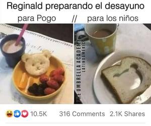 meme, the umbrella academy, and pogo image