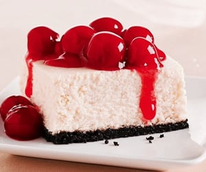 cheesecake, sweet, and yes image
