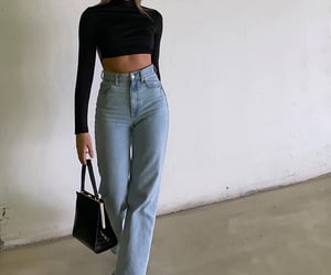 long sleeve top, cute summer outfit, and outfit of the day ootd image