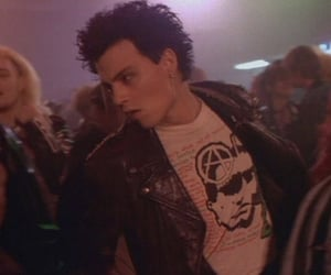 johnny depp, actor, and punk image
