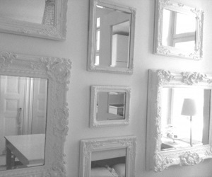 decoration, white, and mirror image