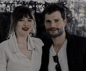 Jamie Dornan, fifty shades, and dakota johnson image