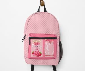 aesthetic, backpack, and berries image
