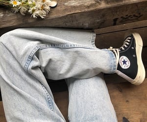 aesthetic, outfit, and jean image