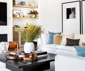 design, living room, and house decor image