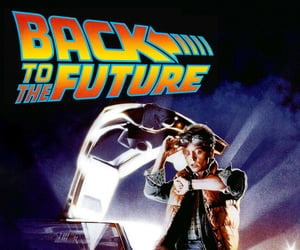 1955, michael j. fox, and Back to the Future image