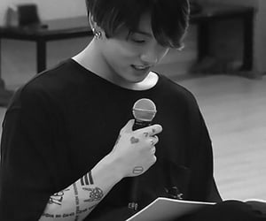 Tattoos, jeon jungkook, and jk image