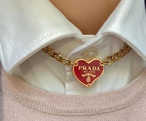 Prada, fashion, and jewelry image