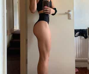 body, fitness, and big booty image