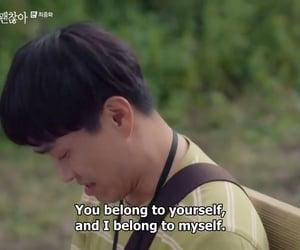 Korean Drama, kdrama, and it's okay to not be okay image