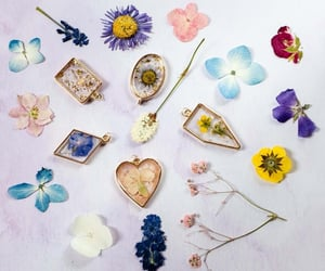 etsy, floral, and jewelry image