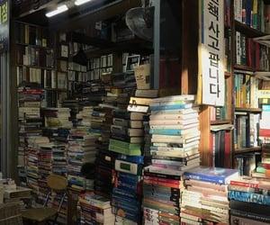 bibliophile, street, and books image