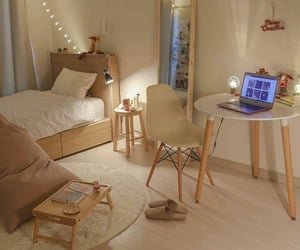 aesthetic, room, and beige image